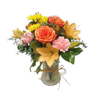 Flower arrangement for all occasions filled with flowers selected by the designer