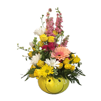 All Smiles Flower Arrangement by Wooster Floral